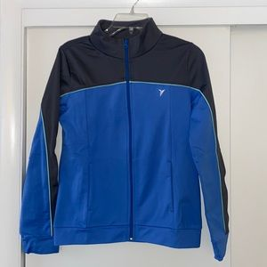 Active by Old Navy azure n grey zippered sweater